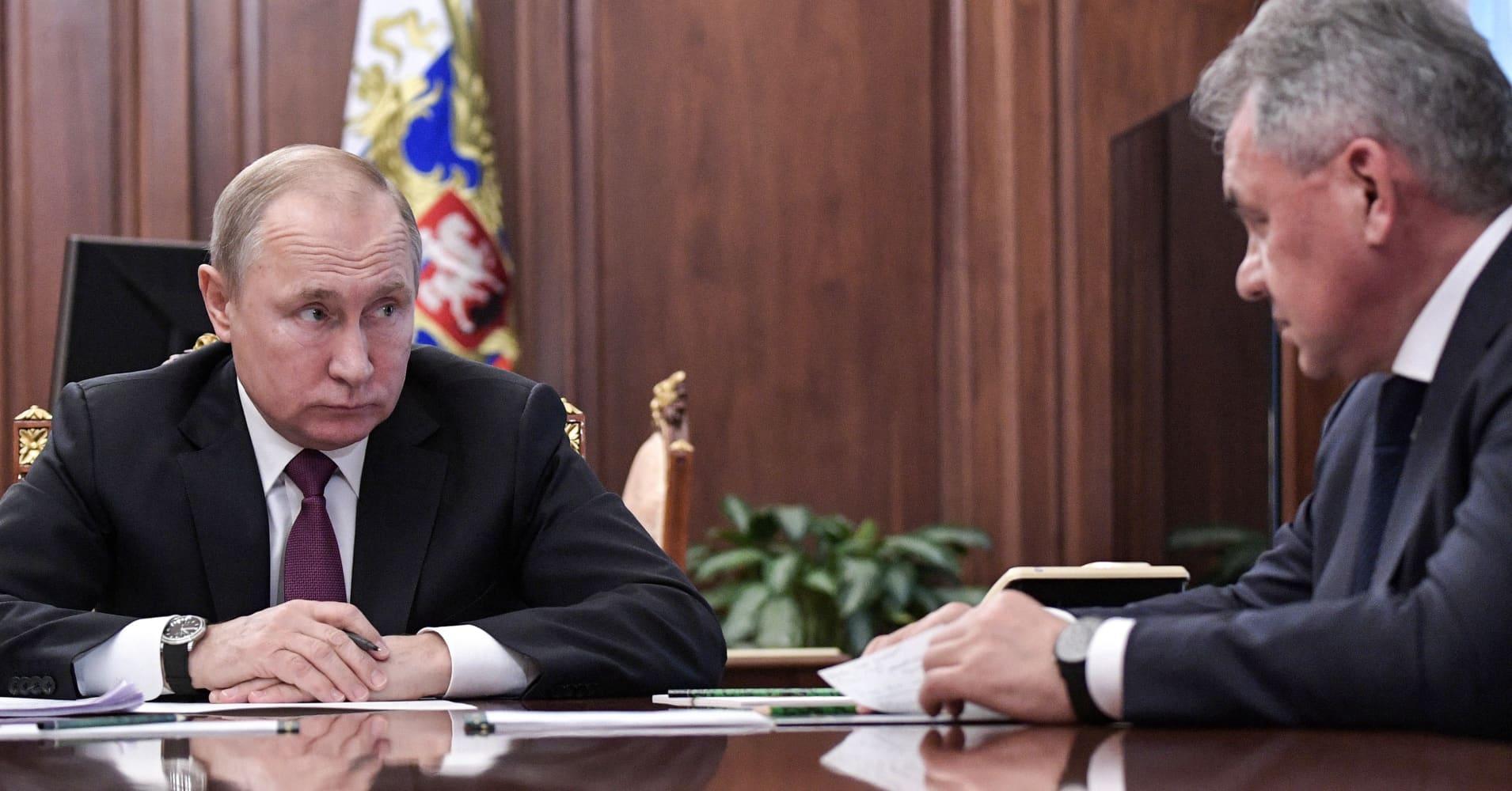 Putin signs decree suspending INF nuclear pact - Kremlin