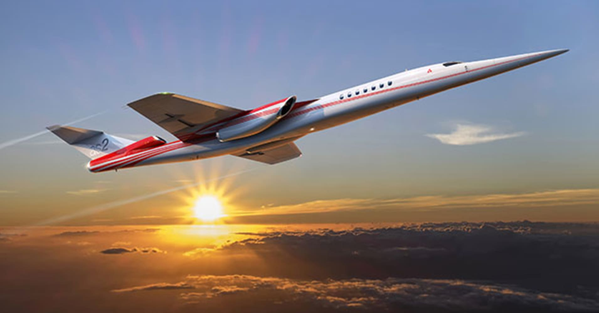 Take a look at the Boeing jet that may take you to your next business meeting at supersonic speeds