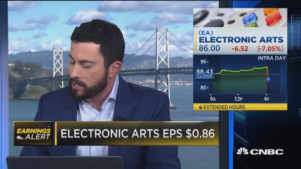 Electronic Arts misses earnings benchmark