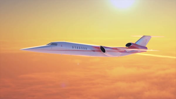 Boeing just unveiled a supersonic business jet