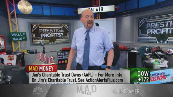 Cramer: You can make a ton of money over the long term with these 'prestige' stocks