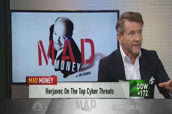 The rise of connected devices poses a real threat to cybersecurity, says Shark Tank's Robert Herjavec