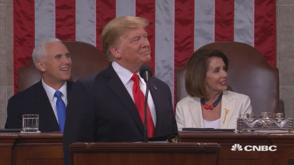 TRUMP: HOLOCAUST SURVIVORS HONORED AT STATE OF THE UNION