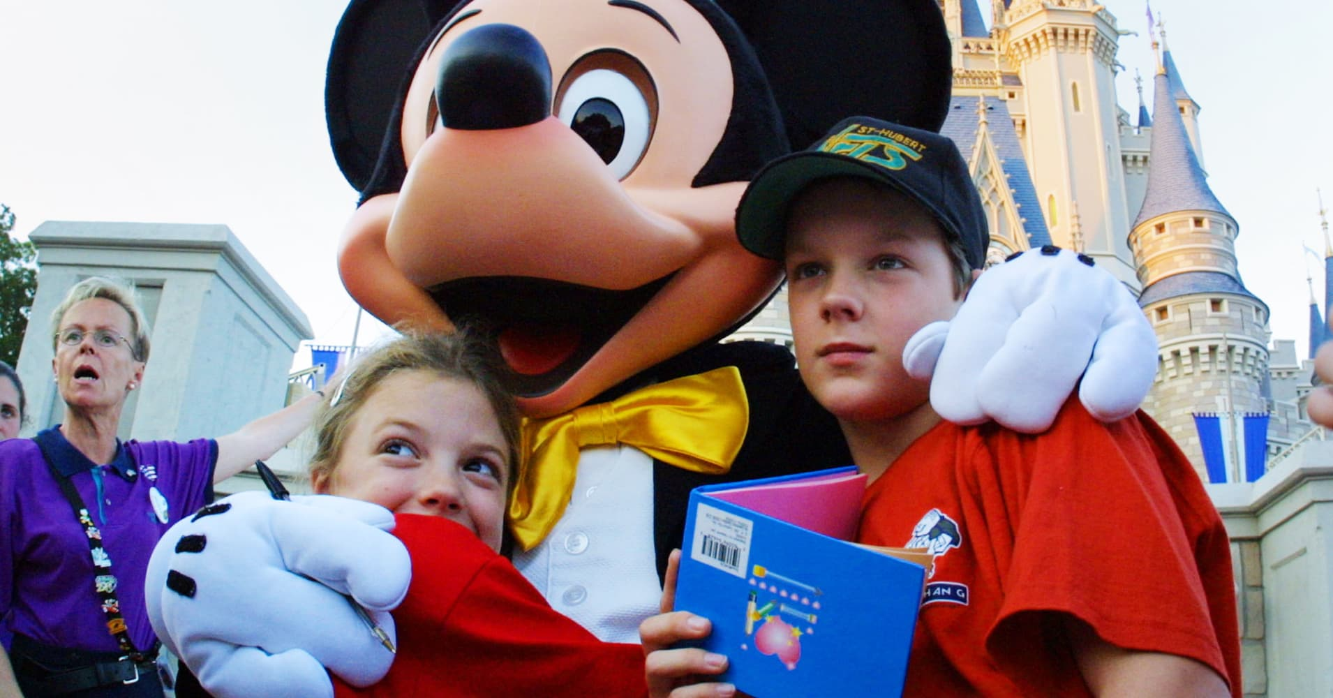 Disney shareholder: I like the stock because all kids 'almost automatically' become customers