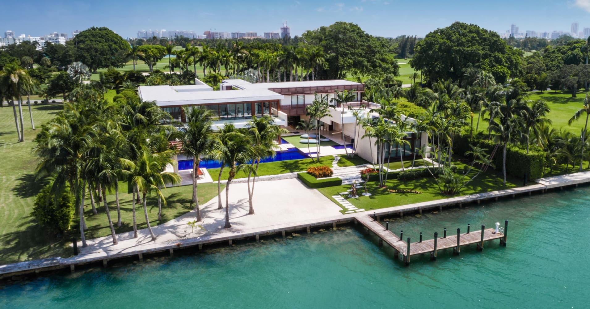 Miami estate sells for a record $50 million