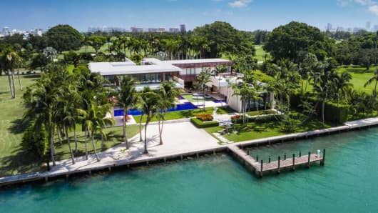 Image result for house on indian creek island rd sells for 50 million