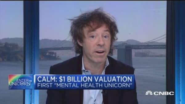 Calm CEO Michael Acton Smith on the company's new funding