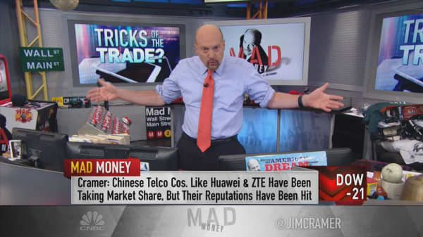 2 telecom stocks could be major winners from trade war: Cramer