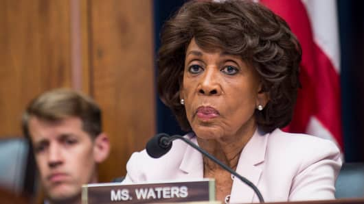 Congresswoman Maxine Waters (D-CA).