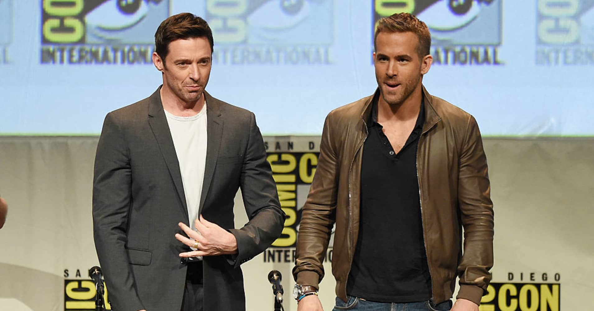 'Feuding' Hugh Jackman and Ryan Reynolds try to call a truce in ads for each other's products