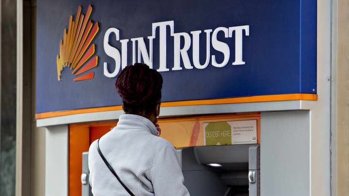 BBT And Suntrust To Combine In An All Stock Merger Of 66 Billion