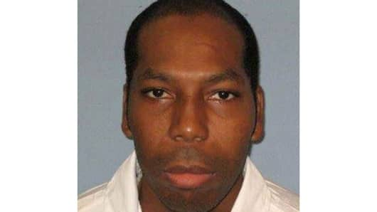 This undated photo from the Alabama Department of Corrections shows inmate Dominique Ray.