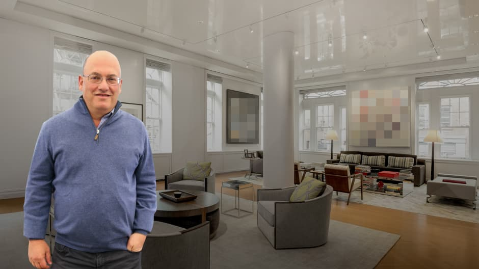Billionaire Steve Cohen's NYC condo is listed for $33 million — take a look inside