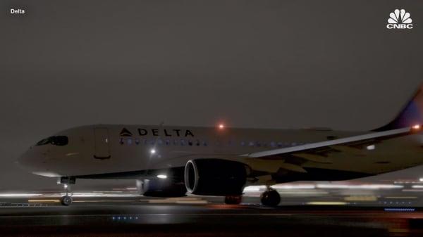 Delta's brand-new A220 planes finally take off
