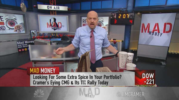 Leadership changes helped drive Chipotle's comeback: Cramer