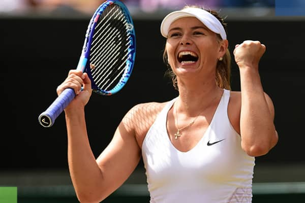 Grand Slamp champion Maria Sharapova