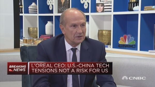 L'Oreal CEO: Still very confident on China