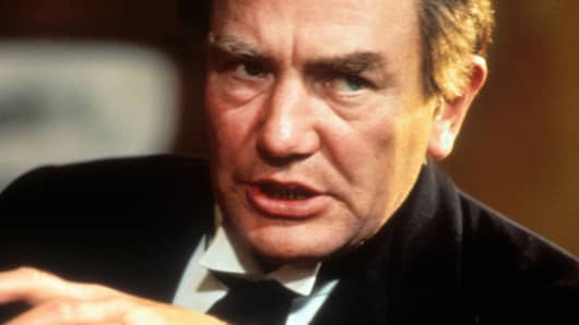 "Albert Finney in a scene from the television movie ""The Image,"" 1990."