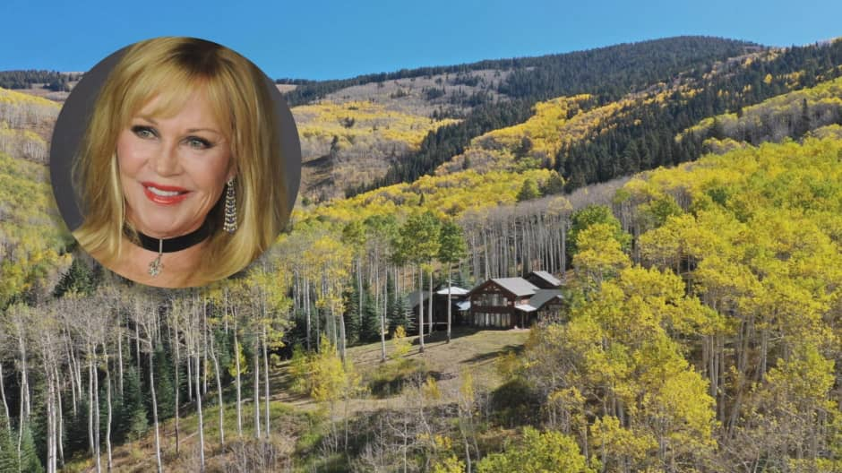Inside Melanie Griffith's $4.3 million Aspen estate