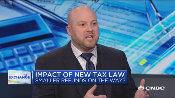 Here's how the new tax law could impact tax refunds