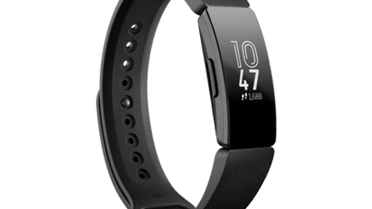 The Fitbit Inspire device