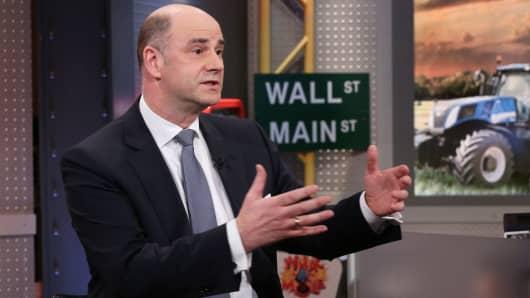 CEO de CNH Industrial Hubertus Mühlhäuser