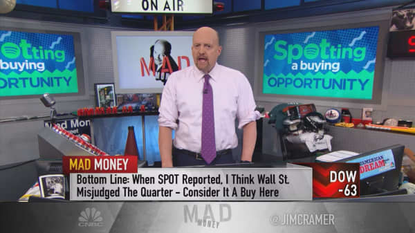 Spotify an 'incredible' buy: Cramer