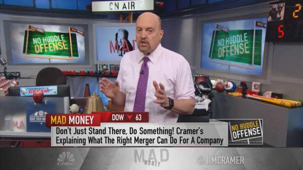 Cramer: What Wall Street doesn't get about the SunTrust-BB&T merger