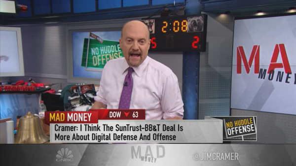 What the Street doesn't get about SunTrust-BB&T merger: Cramer