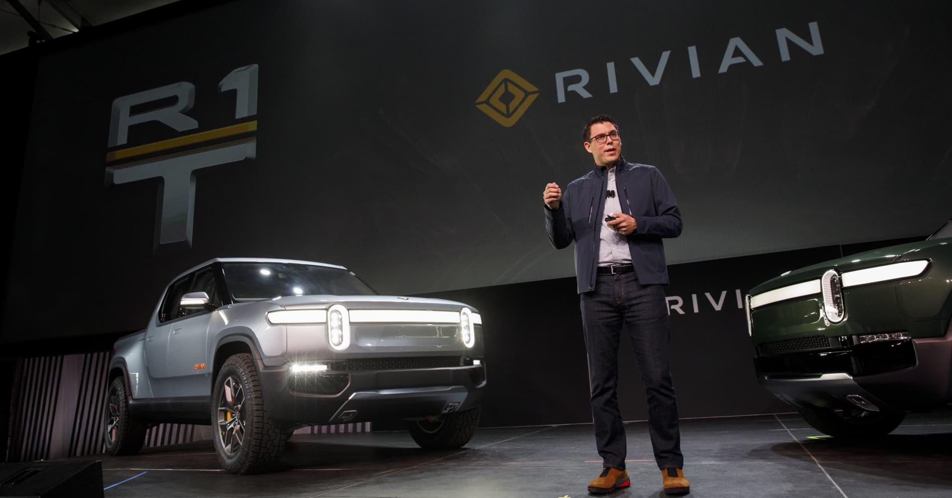 Amazon and General Motors are in Talks to Invest in Tesla Rival Rivian: Reuters, Citing Sources