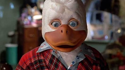 "Ed Gale in ""Howard the Duck"""