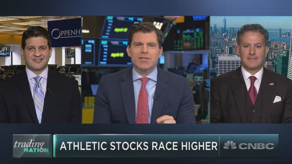 Activewear stocks rally ahead of Under Armour earnings