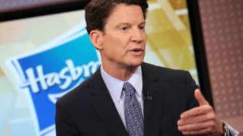 Brian Goldner CEO of Hasbro