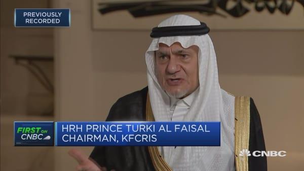 Premature to predict a regime change in Iran: Saudi prince