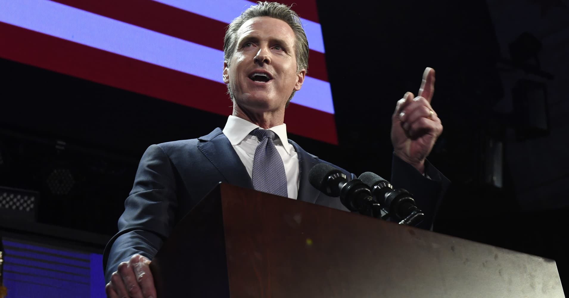 California Gov. Newsom calls for 'new data dividend' for consumers