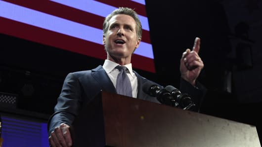 California governor proposes 'new data dividend' that could call on Facebook and Google to pay users