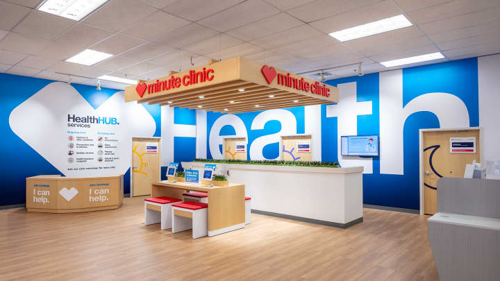 CVS' unique belief stores, known as HealthHUBs, provide extra health products and services than its conventional drugstores.