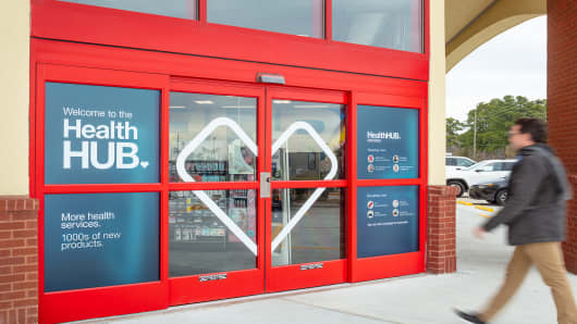 CVS' new concept stores, called HealthHUBs, offer more health services than its typical drugstores.