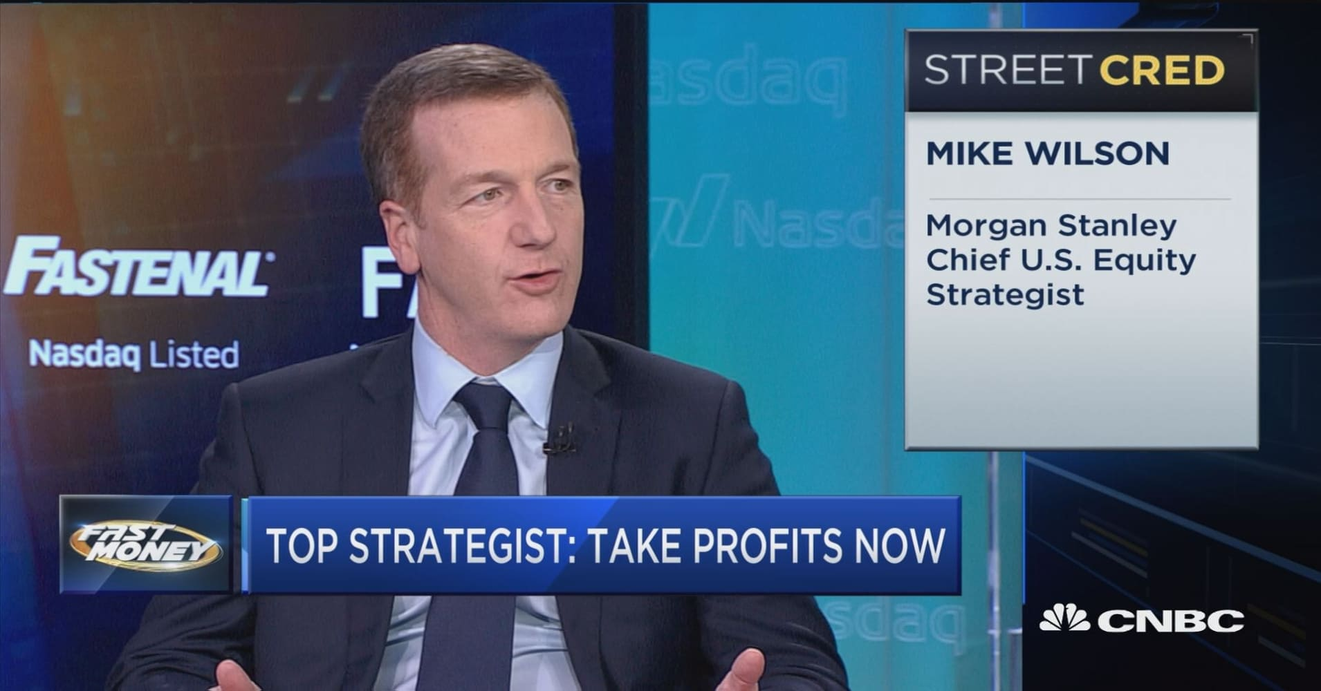 Take profits here and keep some powder dry, says Morgan Stanley's top  strategist