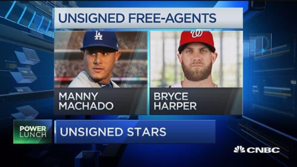 Baseball's Drying up Free Agent Market