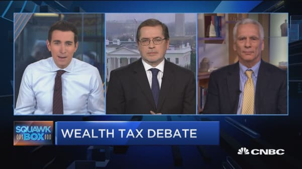 Watch Grover Norquist and former Biden economic advisor debate taxing the rich