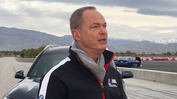 Bernhard Kuhnt, CEO of BMW North America.