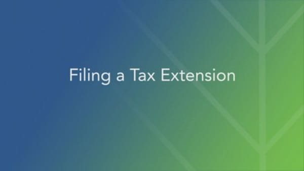 How to file a tax deadline extension
