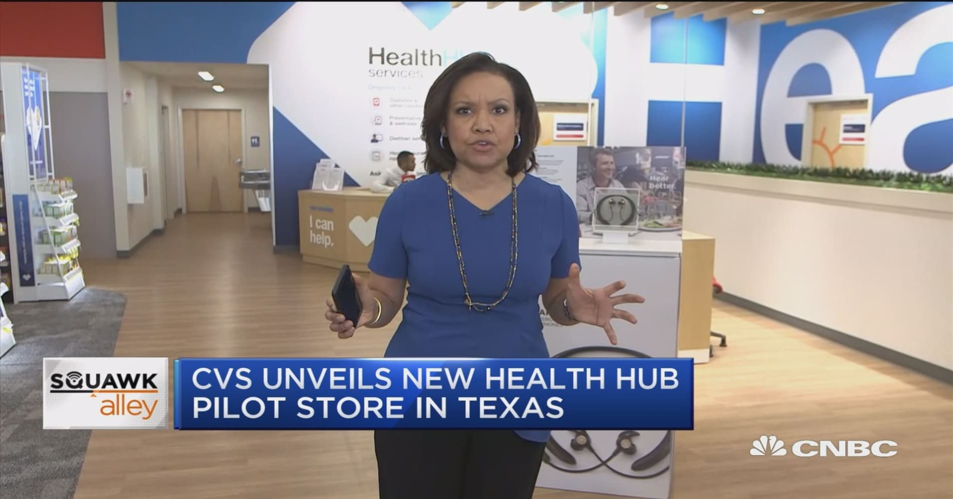 CVS Health shows off new HealthHUB store design. Makeover includes dietitians, wellness rooms for yoga