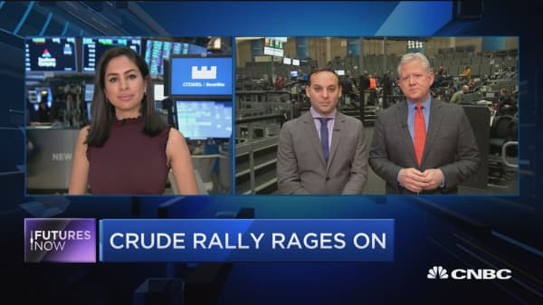 Crude rally continues, here's where traders say it's headed