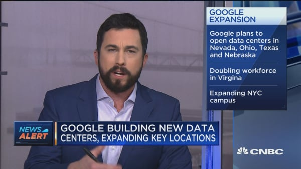 Google to spend $13 billion on US real estate in 2019