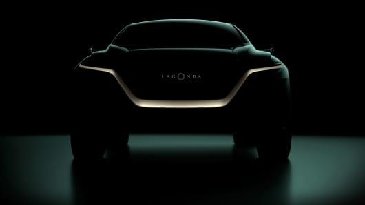 The Lagonda All-Terrain Concept
