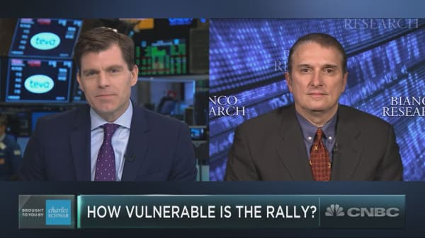 Another interest rate hike would wreck the economy, market researcher James Bianco warns
