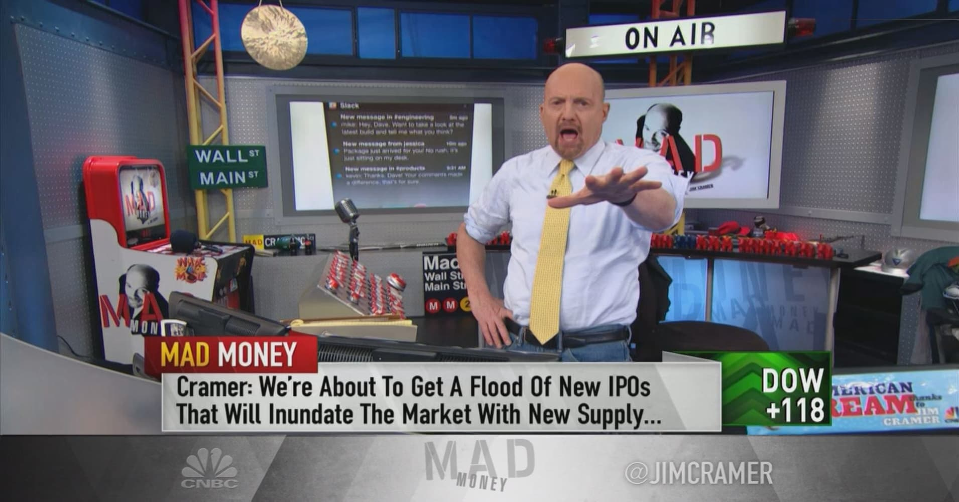 Cramer: Looming threat for stock market and it has nothing to do with China