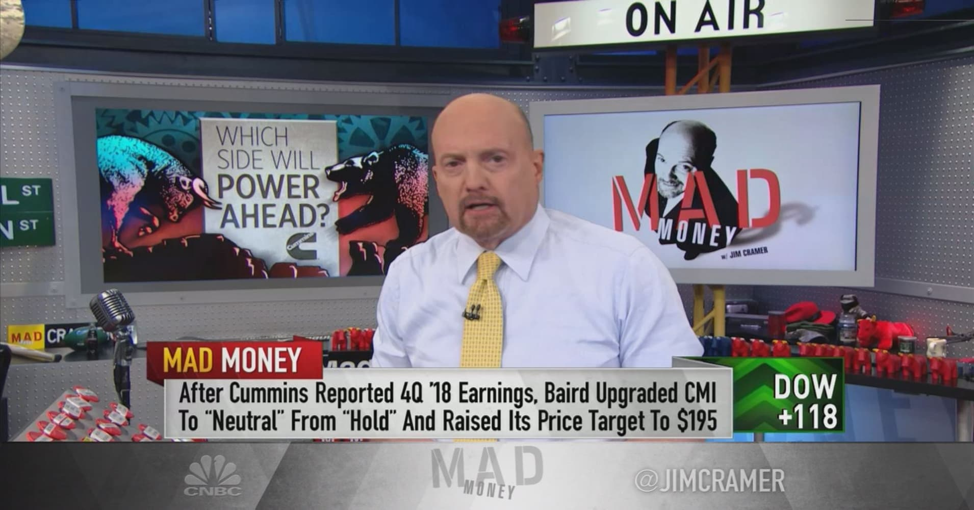 Bulls win in bull-bear battle over Cummins, Cramer says